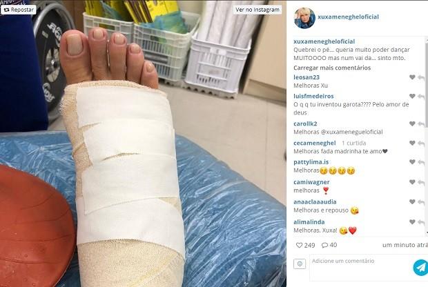 Post de Xuxa Meneghel (Foto: Reprodução/Instagram)
