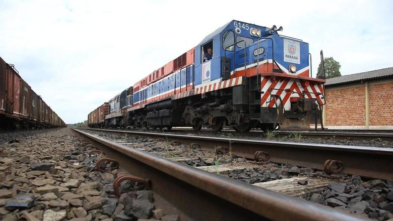 infraestrutura-ferrovia-ferroeste (Foto: Jaelson Lucas/ANPr)