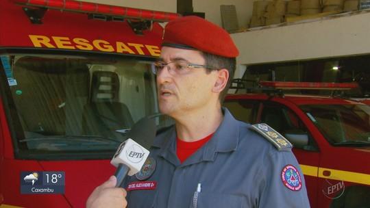Bombeiros do Sul de MG chegam a Brumadinho para ajudar nas buscas pelas vítimas