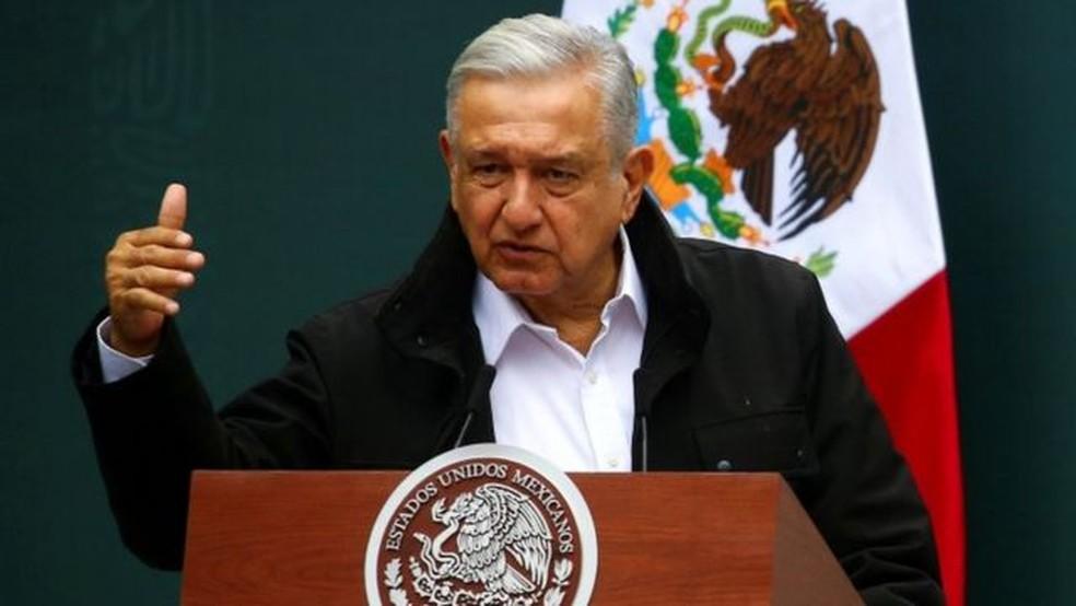 O presidente do México prioriza a contenção do déficit e muitos economistas que acreditam que este não é o momento para isso. — Foto: Reuters