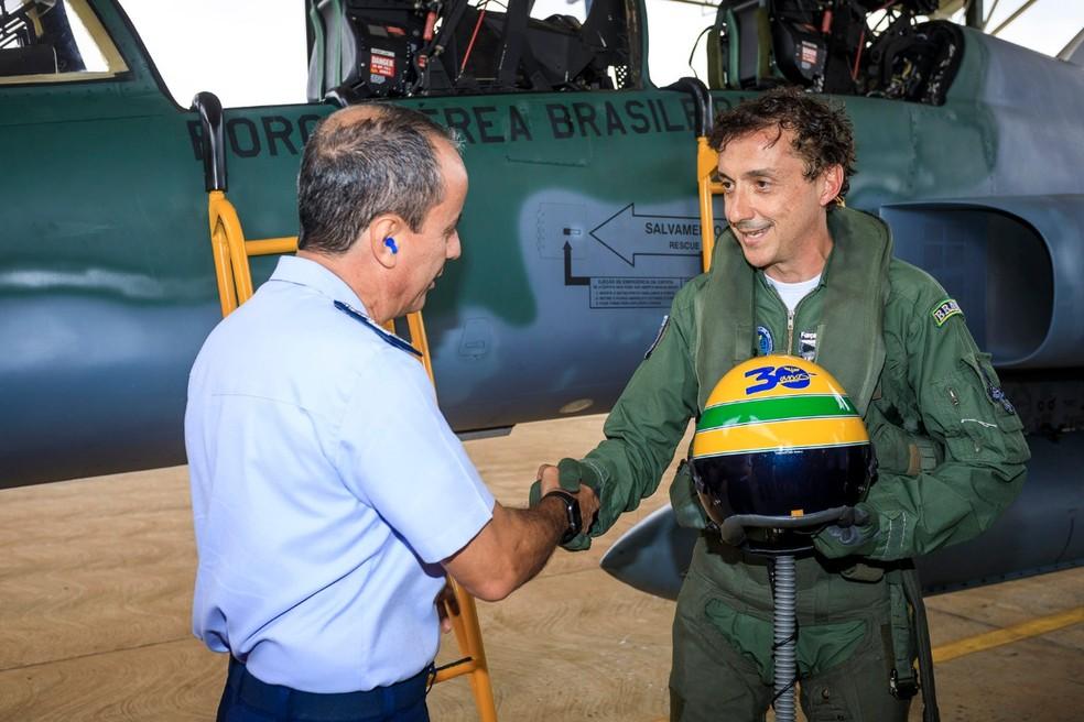 Leonardo Senna — Foto: Divulgação/Instituto Ayrton Senna