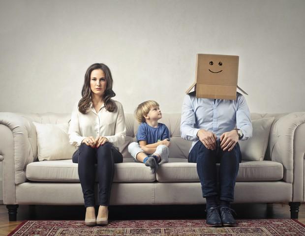 Como o pai pode se aproximar mais dos filhos? (Foto: Thinkstock)
