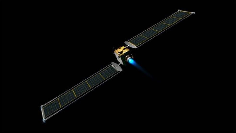 Lançamento da missão Double Asteroid Redirection Test (DART) ocorrerá às 1h20 (2h20 horário de Brasília), em 24 de novembro — Foto: Nasa