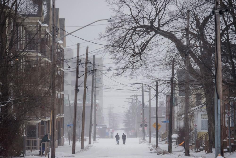 Onda de frio extremo sem precedentes atinge o Canadá