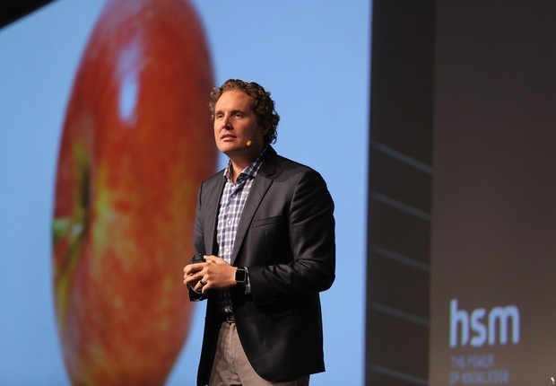 Caleb Harper, pesquisador-chefe e diretor da Open Agriculture Initiative (OpenAG) (Foto: HSM/Divulgação)