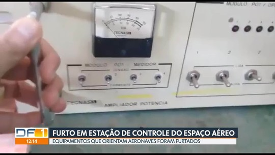 Polícia investiga furto em Estação de Apoio ao Controle do Espaço Aéreo de Taguatinga