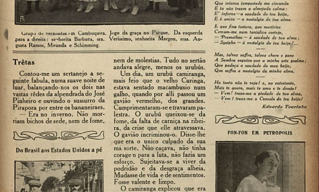 Edição da revista Fon-Fon do início do séc. XX