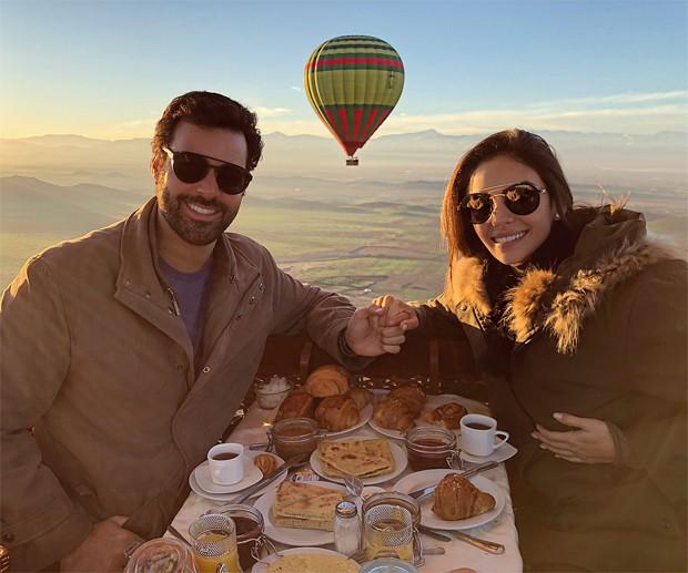 Carol Celico e Eduardo Scarpa (Foto: Reprodução/Instagram)