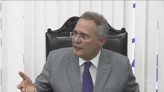 Renan Calheiros diz que vai contestar no STF a operação da PF no Senado