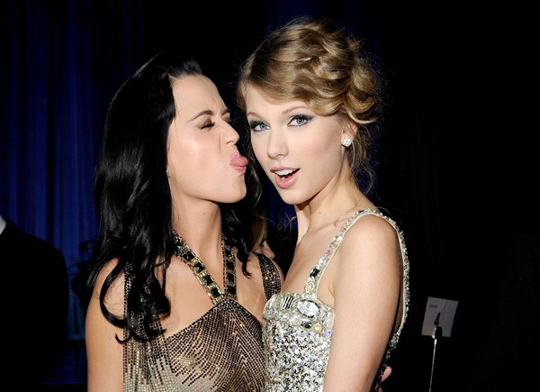 Taylor Swift e Katy Perry (Foto: Getty Images)