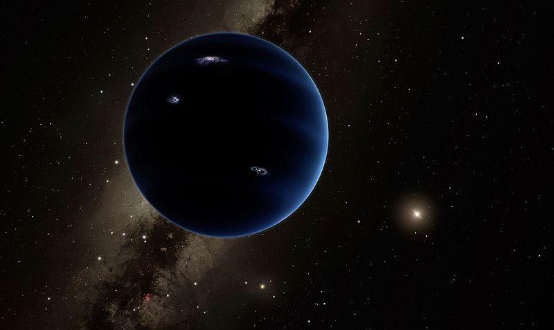 Concepção artística do Planeta Nove (Foto: NASA/JPL-Caltech/Robert Hurt/Wikimedia Commons)