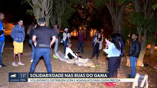 Projeto Aqueça Corações leva solidariedade para as ruas do Gama