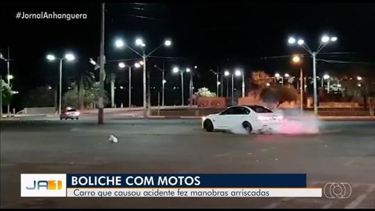 Motorista de BMW que derrubou 12 veículos fez 'zerinhos' com carro na noite anterior