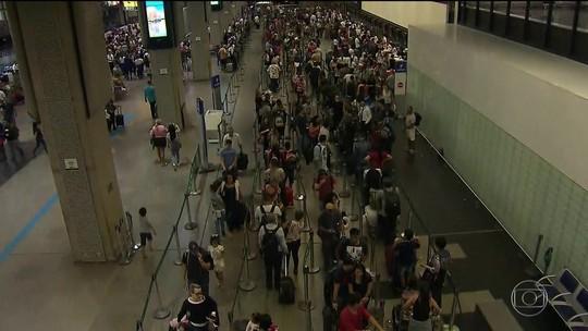 Aeroporto de Cumbica tem 5º dia seguido de voos atrasados