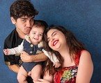 João Fernandes com Maria Belén e o filho   Studio Malfort