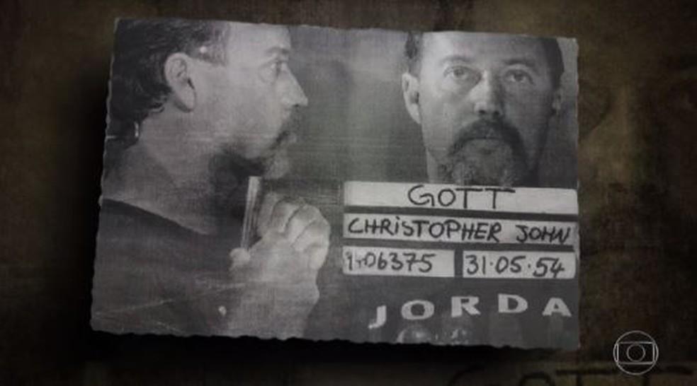 Christopher John Gott: condenado em 1994 a seis anos de prisão por abusar sexualmente de cinco menores (Foto: Reprodução / TV Globo)