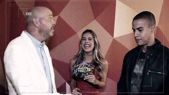 Alex Escobar e Thiago Oliveira se divertem em quiz sobre o 'Domingão do Faustão'
