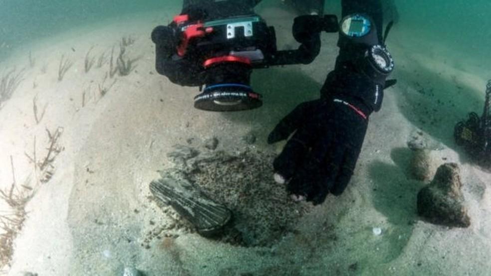 Navio foi encontrado em setembro. — Foto: Reuters
