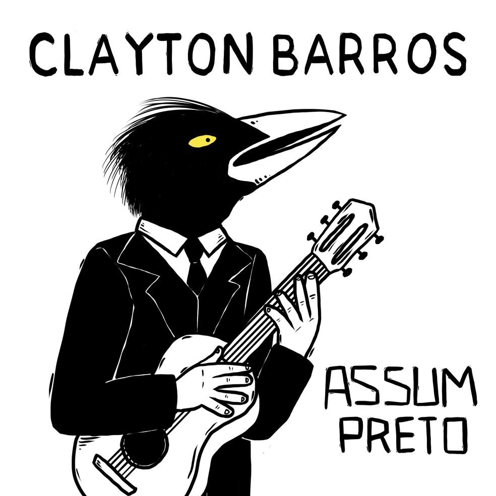 Capa do single 'Assum preto', de Clayton Barros — Foto: Divulgação