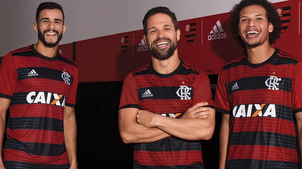 Flamengo e Adidas lançam nova camisa número 1 do clube (Foto: Reprodução)