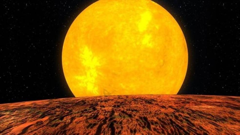 Descoberta foi feita a partir de observações de um sistema estelar a 1,6 mil anos-luz de distância — Foto: Nasa