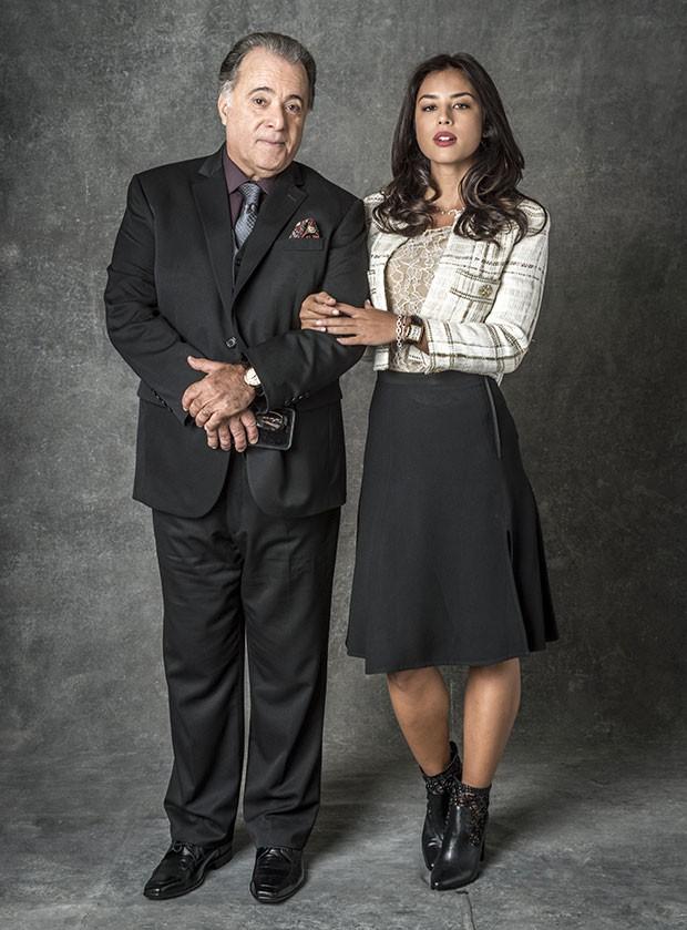 Tony Ramos e Yanna Lavigne (Foto: TV Globo)