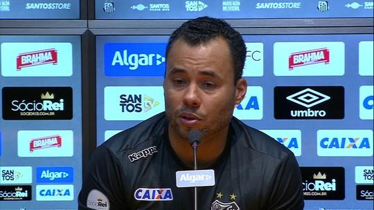 """Jair cita eficiência do Santos, mas quer um camisa 10: """"Para ser titular absoluto"""""""