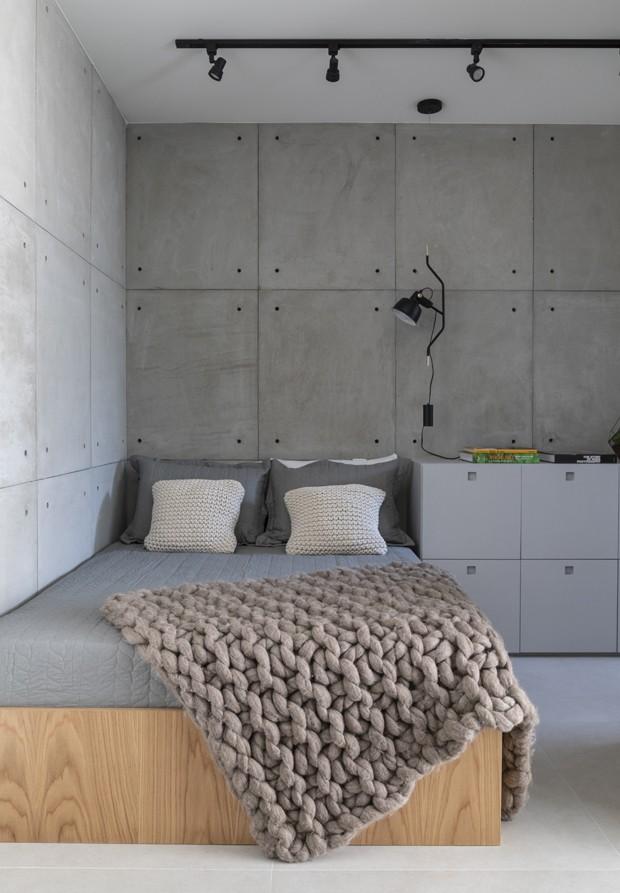 Apartamento de 30 m² tem espaço para tudo (Foto: Evelyn Müller )
