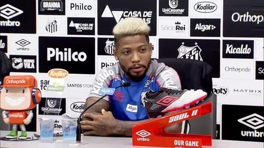 """Marinho se inspira em Robben e minimiza crise no São Paulo: """"Contra o Santos viram Barcelona"""""""