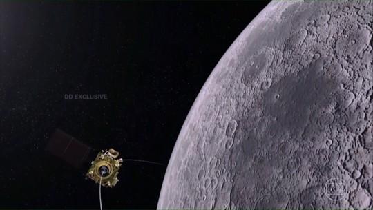 Sonda indiana que pousaria na Lua perde contato com a Terra