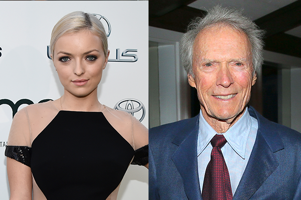 Francesca e Clint Eastwood (Foto: Getty Images)