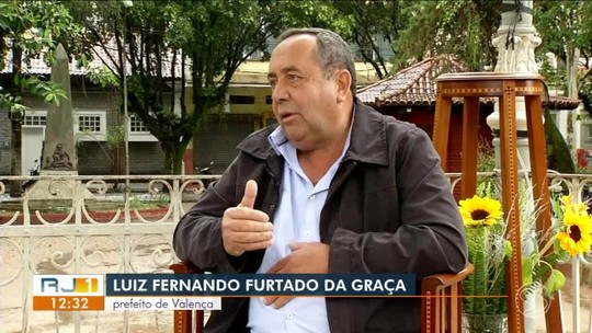 RJ1 entrevista prefeito de Valença - parte 2