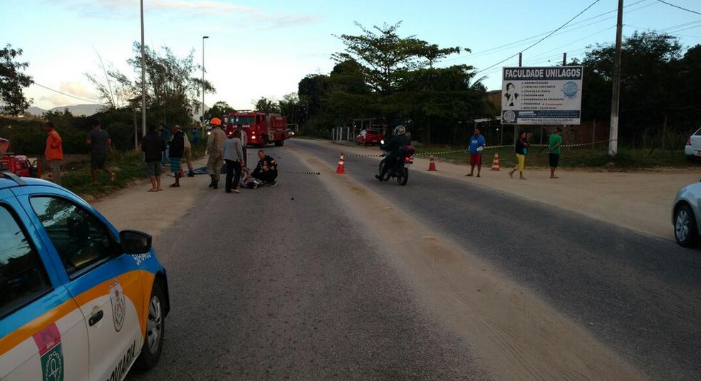 Sete pessoas ficaram feridas no acidente no Morro do Moreno (Foto: Divulgação/Polícia Rodoviária Estadual)