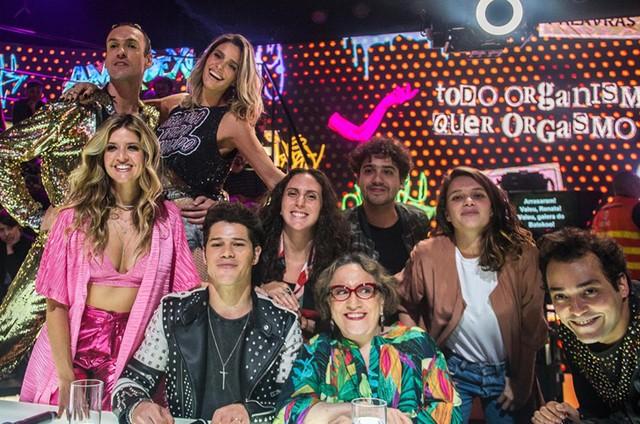 Elenco do 'Amor & sexo' (Foto: Raquel Cunha/TV Globo)