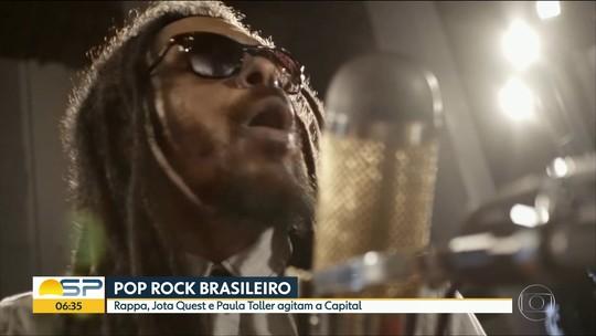 O Rappa, Jota Quest e Paula Toller fazem shows em São Paulo; G1 comenta em VÍDEO