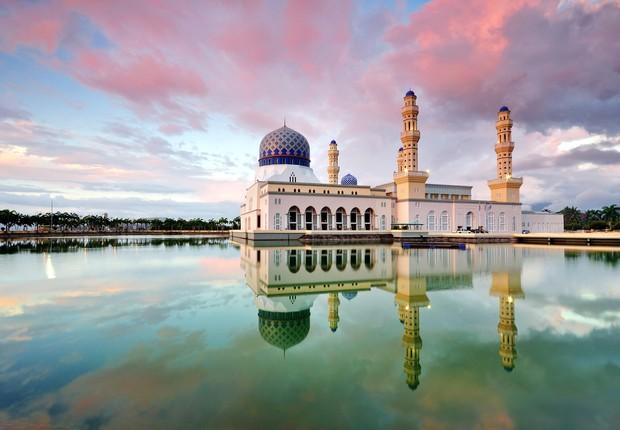 Kota Kinabalu, em Bornéu, Malásia (Foto: Thinkstock)