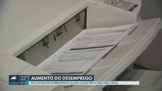 Comerciante de Sobradinho ajuda quem procura uma vaga de emprego