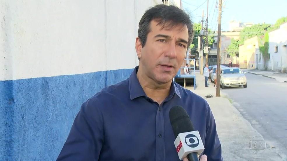 Vinícius Farah, ex-presidente do Detran-RJ, chegou a ser preso na Operação Furna da Onça — Foto: Reprodução/ TV Globo