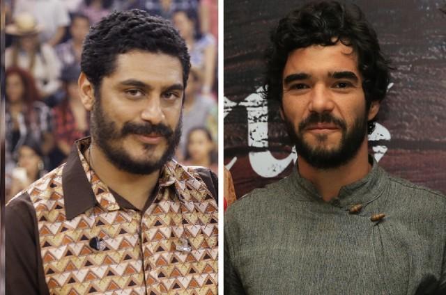 Criolo e Caio Blat (Foto: Divulgação/TV Globo)