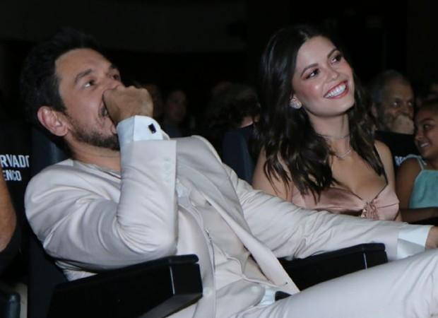 João Vicente de Castro e Vitória Strada (Foto: AgNews)