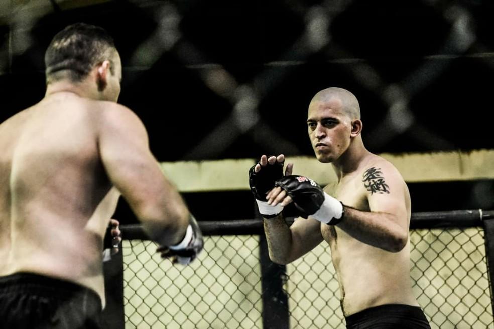 Piauí Fight - Evandro Capoeira x Rubens Massará — Foto: Denes Brito