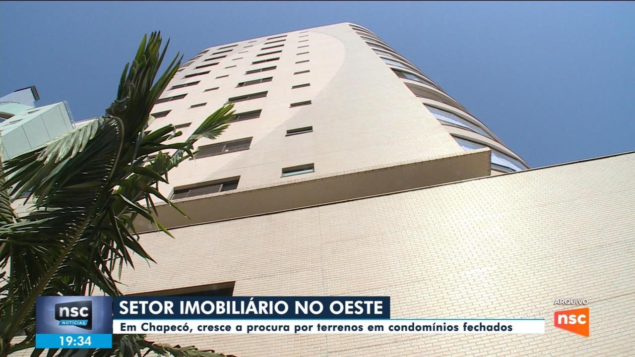 Procura por terrenos em condomínios fechados em Chapecó dispara durante pandemia