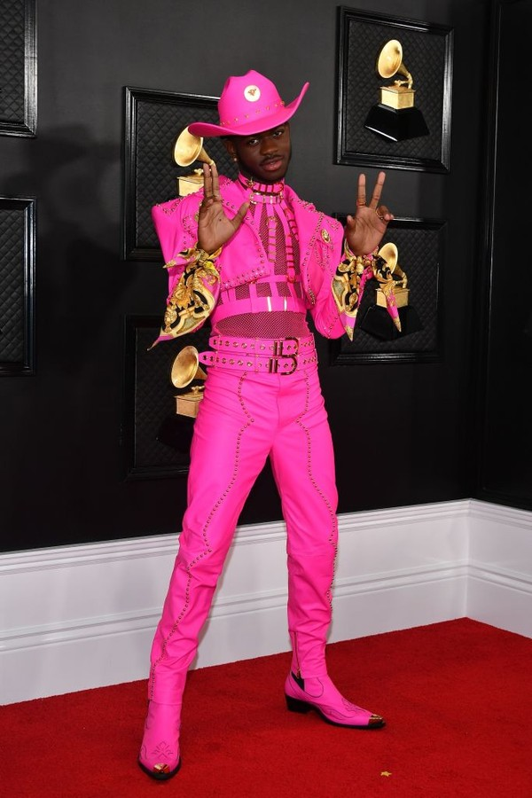 LOS ANGELES, CALIFORNIA - JANUARY 26: Lil Nas X attends the 62nd Annual GRAMMY Awards at Staples Center on January 26, 2020 in Los Angeles, California. (Photo by Amy Sussman/Getty Images) (Foto: Getty Images)