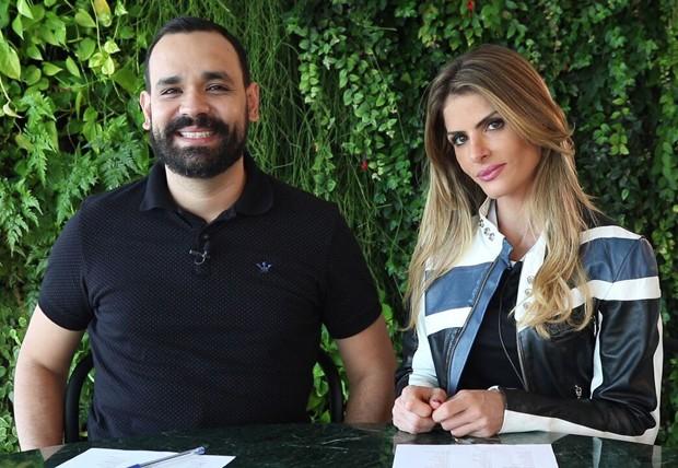 Alvaro Leme e Carol Magalhães (Foto: Divulgação)