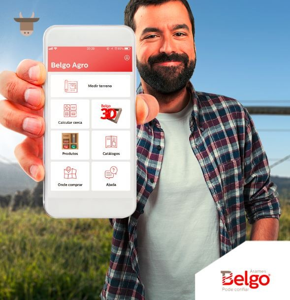 Lançado em maio, o APP Belgo Agro já cativou produtores rurais de todos os perfis (Foto: Divulgação)