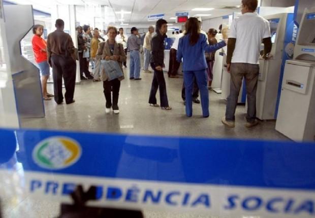 Posto do INSS no Rio de Janeiro ; Previdência Social ;  (Foto: Márcia Foletto/Agência O Globo)