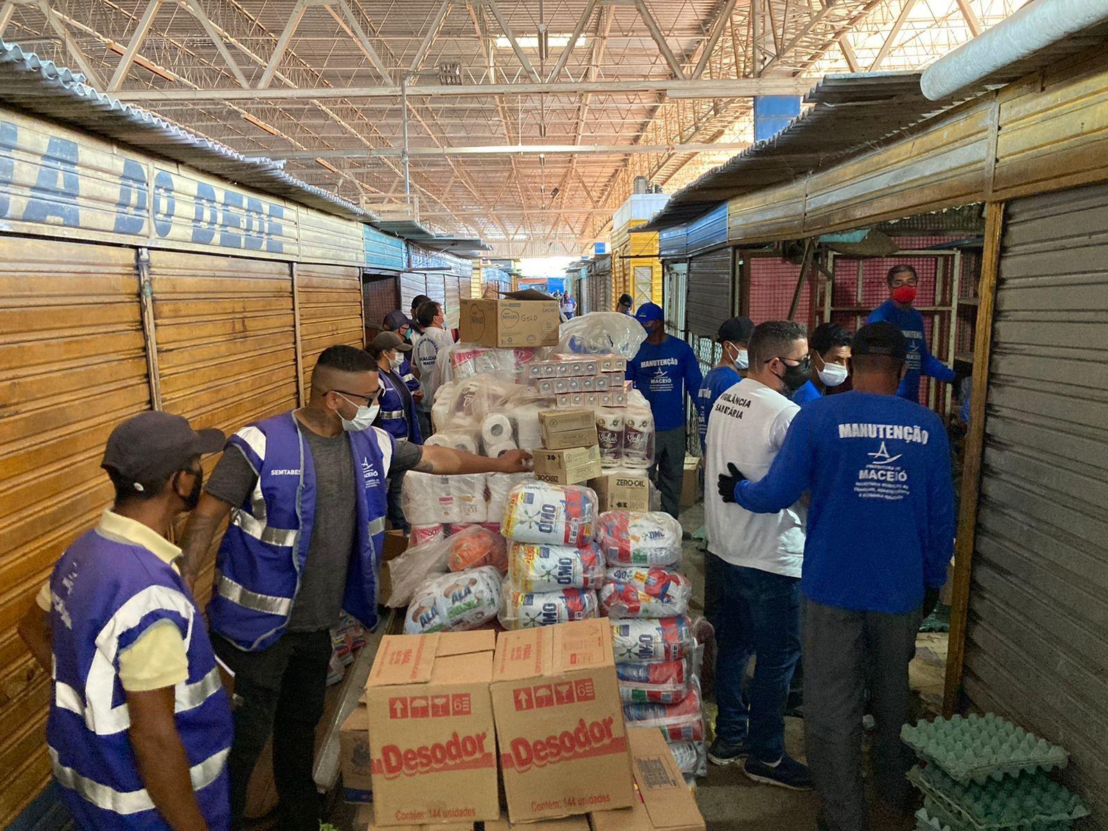 Mais de 600 kg de alimentos são apreendidos no Mercado da Produção de Maceió