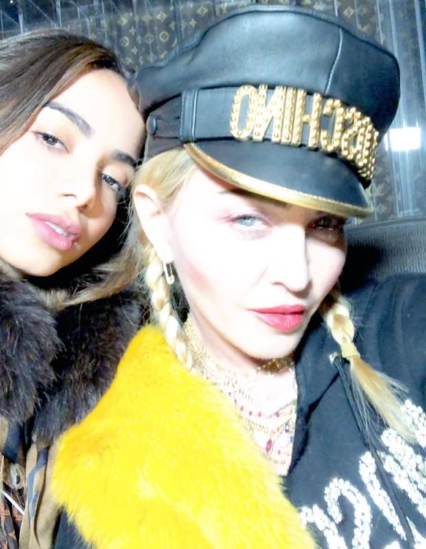 Anitta e Madonna (Foto: Reprodução/Instagram)