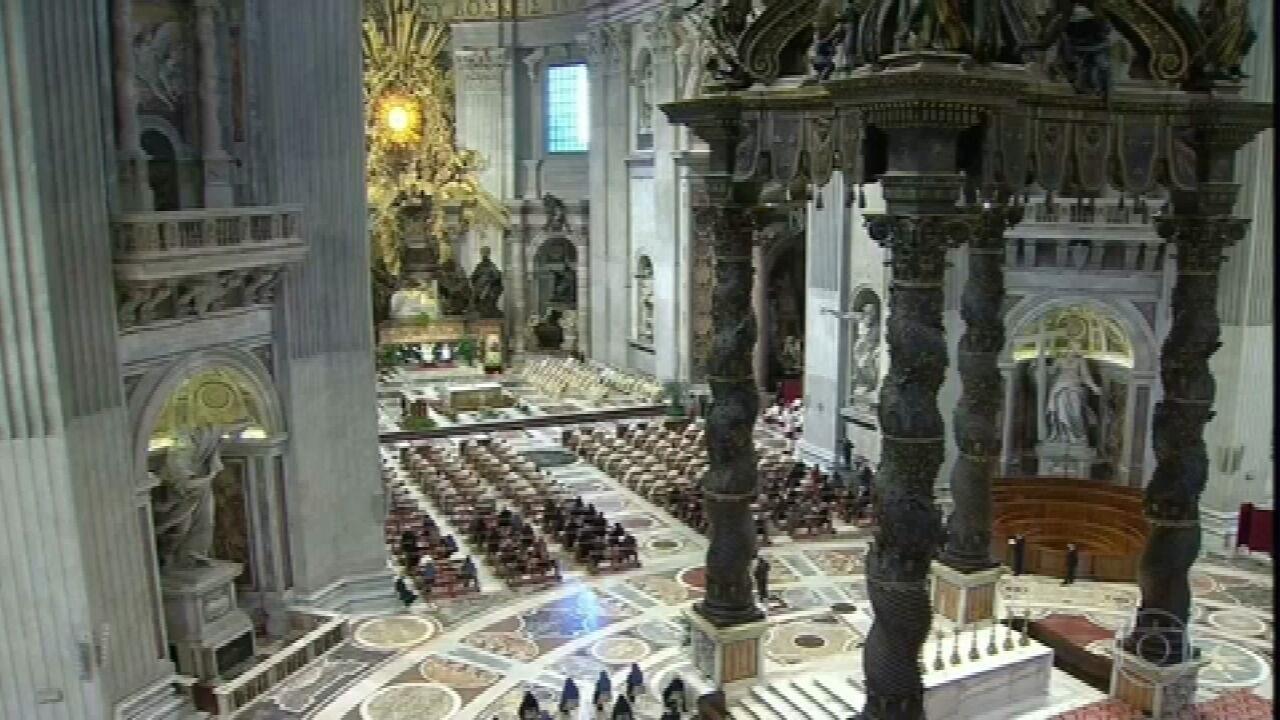 Quinta-feira santa tem missa sem lava-pés no Vaticano