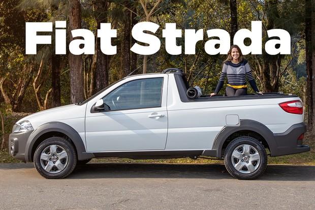 Vídeo: Fiat Strada (Foto: Divulgação)